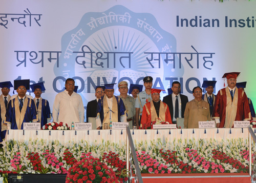 First Convocation of Indian Institute of Technology, Indore