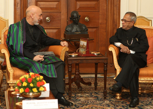 President of Afghanistan Calls on President
